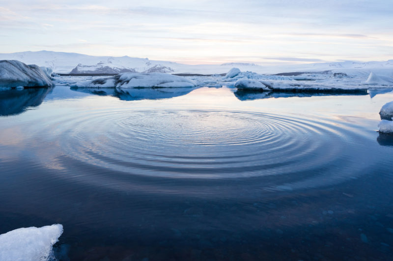 Sea Ice in Hot Water